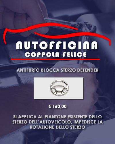 Autofficina Coppola Felice - Offerta Blocca Sterzo Defender web